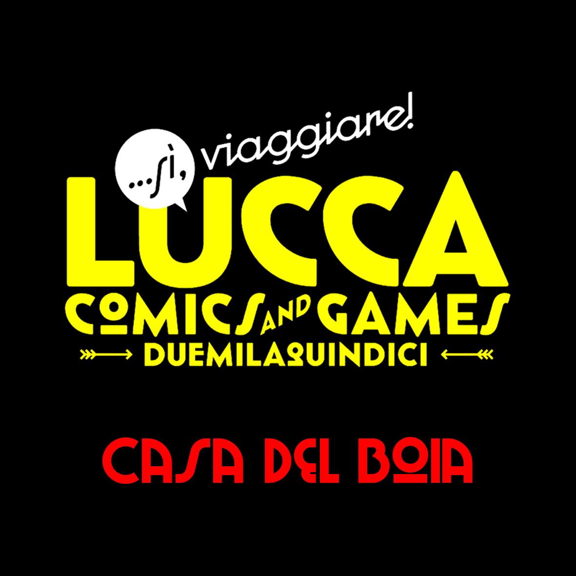 Mecha a Lucca 2015