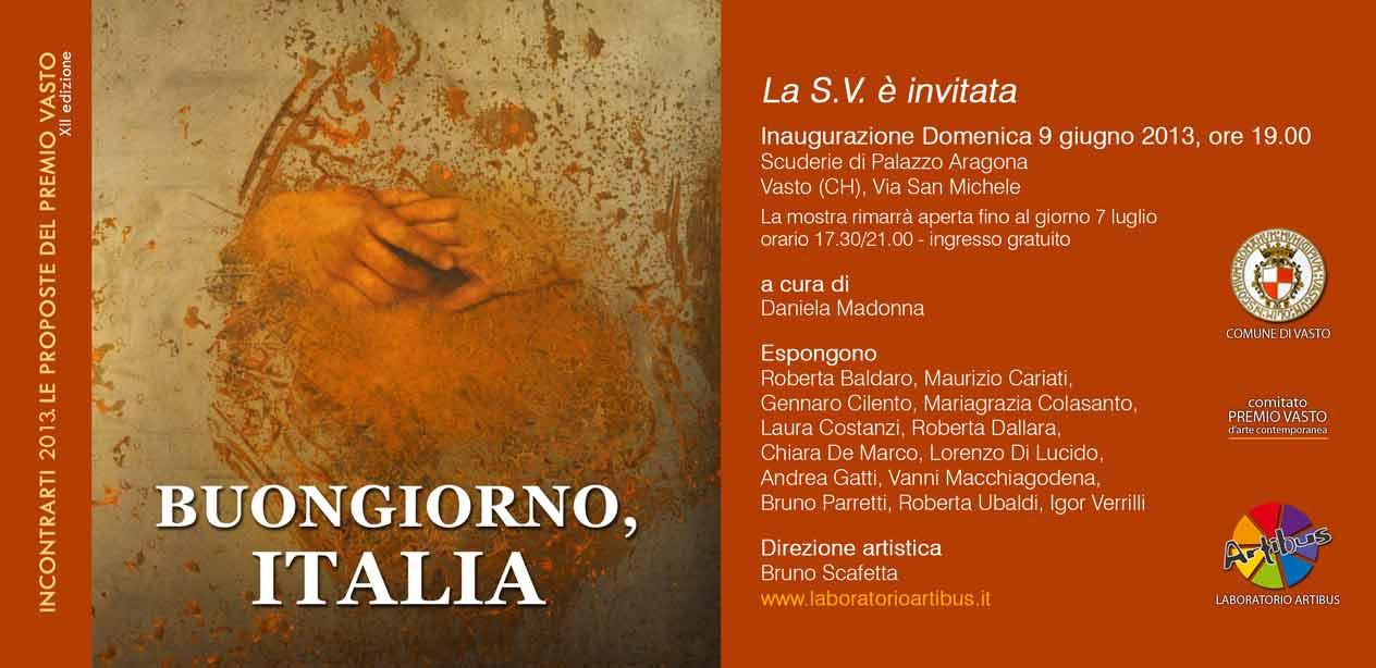 Buongiorno Italia catalogue cover