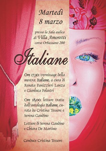 Italiane, la mostra, poster event