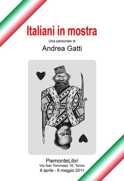 Italiani in mostra, book cover